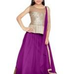 Eid Ul Azha Lehenga Dress For Little Girls 2015-16 7