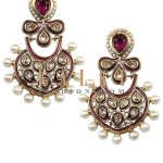 Indian Earrings Jewelry By Kalki Fashion 2015-16 2