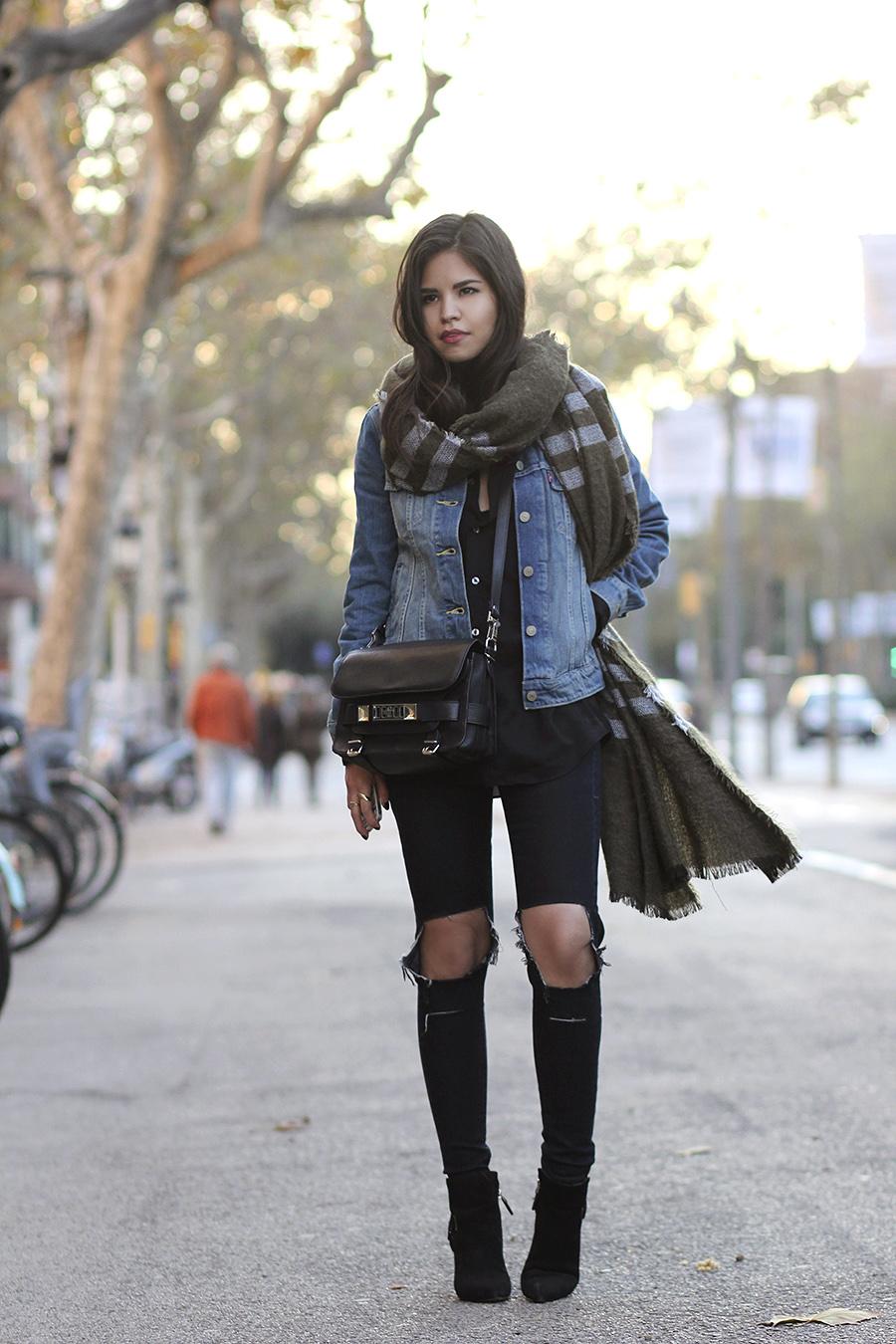 winter fashion accessories dress