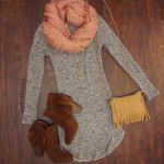 boots and fringe handbag