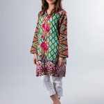 Floral Embroidered Kameez Designs By Zari Faisal 2015-16  3