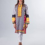 Floral Embroidered Kameez Designs By Zari Faisal 2015-16  9