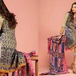 Printed Cambric Shirts By Al Zohaib Textiles 2015-16 9