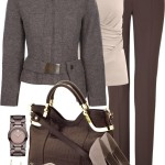 Professional Fall Polyvore Combos To Wear In Office 5