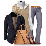 Professional Fall Polyvore Combos To Wear In Office 6