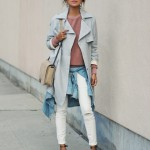 Trench Coat Trend This Fall Season For Women 13
