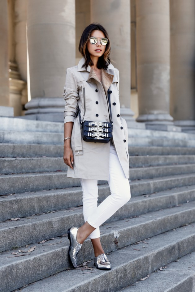casual wear trench coat