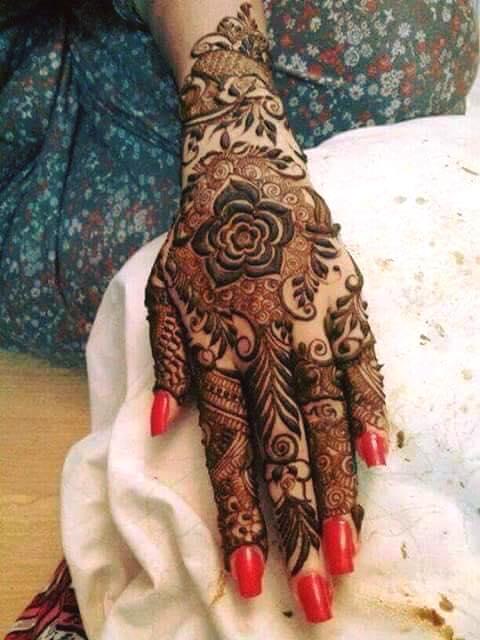 bridal hand mehndi
