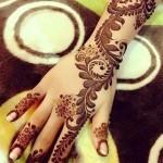 Winter Bridal Mehndi Ideas Fashion 2015-16 3