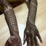 Winter Bridal Mehndi Ideas Fashion 2015-16 8
