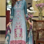 Embroidered Linen Subhata Collection By Shariq Textiles 2016 2
