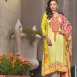 Embroidered Linen Subhata Collection By Shariq Textiles 2016 6