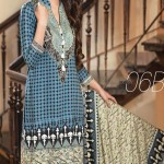 Embroidered Linen Subhata Collection By Shariq Textiles 2016 8