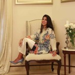 Floral Silk Kurta Collection For Casual Wearing By FTA 2016 2