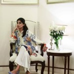 Floral Silk Kurta Collection For Casual Wearing By FTA 2016 4