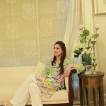 Floral Silk Kurta Collection For Casual Wearing By FTA 2016 5