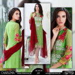 Luxury Chiffon Collection By Charizma 2015-16 10