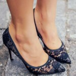Lace High Heel Shoes To Wear On Parties 6