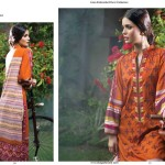 Linen Embroidered Dresses Orient Textile Collection 2016 10