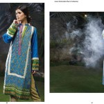 Linen Embroidered Dresses Orient Textile Collection 2016 12