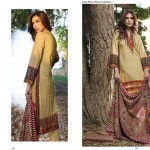 Linen Embroidered Dresses Orient Textile Collection 2016 15
