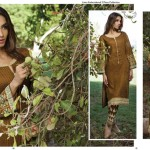 Linen Embroidered Dresses Orient Textile Collection 2016 18
