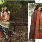 Linen Embroidered Dresses Orient Textile Collection 2016 21