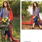 Linen Embroidered Dresses Orient Textile Collection 2016 25