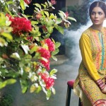 Linen Embroidered Dresses Orient Textile Collection 2016 26