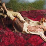 Linen Embroidered Dresses Orient Textile Collection 2016 3