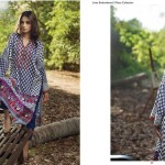 Linen Embroidered Dresses Orient Textile Collection 2016 4