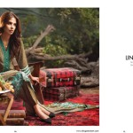 Linen Embroidered Dresses Orient Textile Collection 2016 8