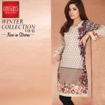 Origins 2 Piece Winter Collection 2016 Linen Dresses 2
