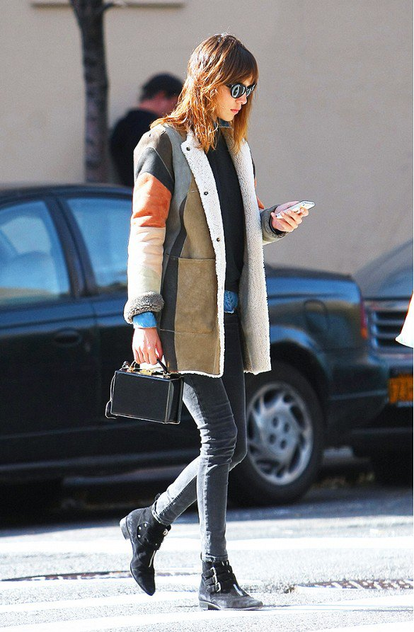 Winter Patchwork Outfits