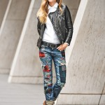 Patchwork Winter Outfits Women Should Try 4