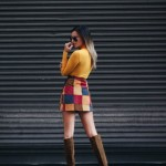 Patchwork Winter Outfits Women Should Try 6