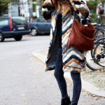 Patchwork Winter Outfits Women Should Try 8