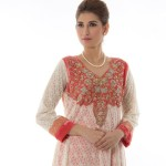 Pret Party Wear Traditional Dresses Khadija Karim Collection 2016 2