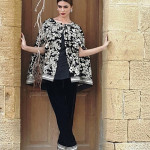 Velvet Embroidered Dresses Threadz-Motifs Collection 2016 4