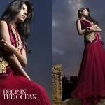 Floor Length Spring Formal Wear Waseem Noor Collection 2016 7