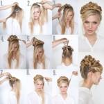 Spring Step By Step Hair Tutorials 13