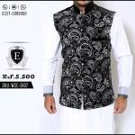 Waistcoat Kurta Shalwar Men Collection Edge 2016 4