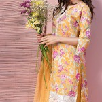 Khaadi Lawn 3 Piece Venetian Laces Summer Collection 2016 3