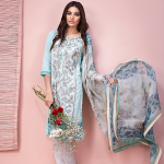 Khaadi Lawn 3 Piece Venetian Laces Summer Collection 2016 7