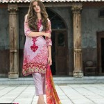 Mahnoor Embroidered Spring Summer Lawn Al Zohaib 2016 18