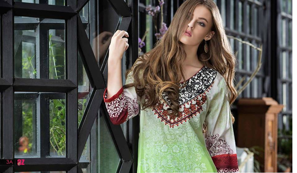 Mahnoor Embroidered Spring Summer Lawn