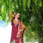 Mahnoor Embroidered Spring Summer Lawn Al Zohaib 2016 5