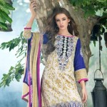 Mahnoor Embroidered Spring Summer Lawn Al Zohaib 2016 7