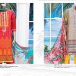 J. Har Rang Apna Lawn Chiffon Vol 2 Summer Collection 2016