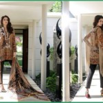 Shehla Chatoor Luxury Lawn Collection Summer 16 11